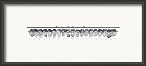 Yankees Framed Print By Tamir Barkan