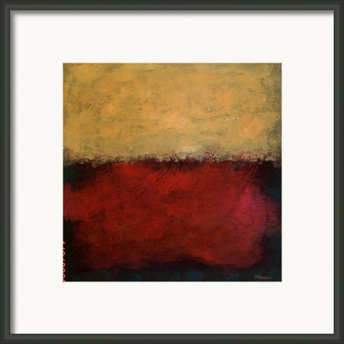Yellow Haze  Framed Print By Jim Ellis