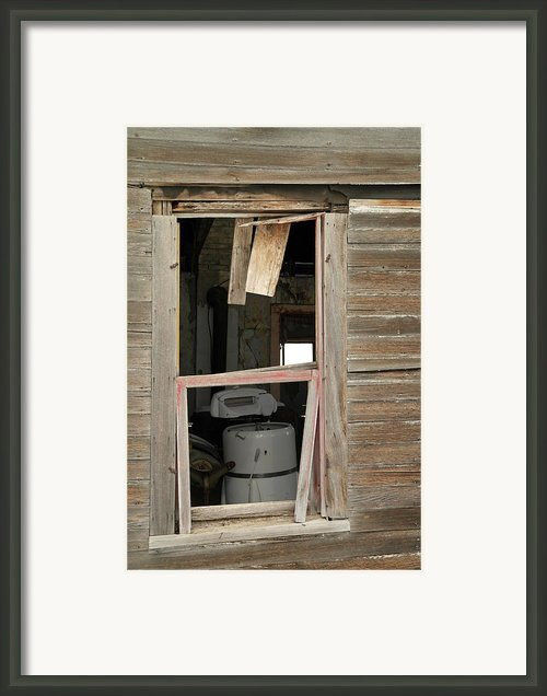 Yesterdays Laundry Framed Print By Jeff  Swan