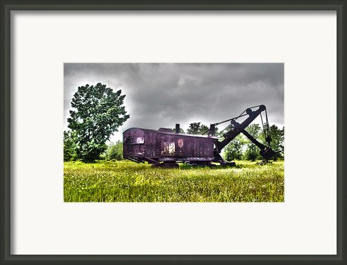 Yesteryear - Hdr Look Framed Print By Rhonda Barrett