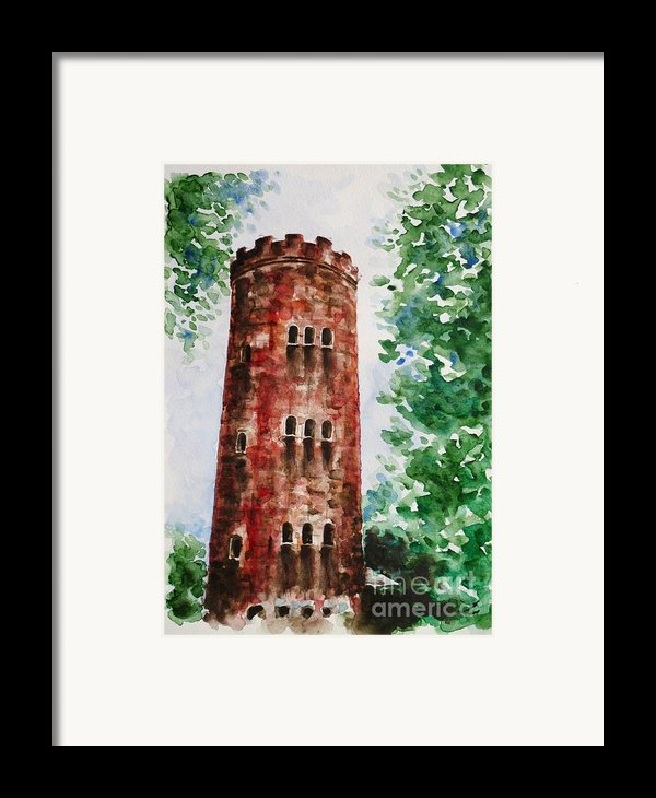 Yokahu Tower  Framed Print By Zaira Dzhaubaeva