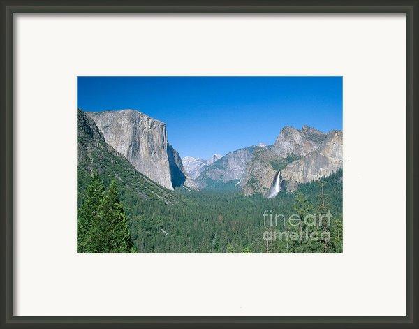 Yosemite Valley Framed Print By David Davis