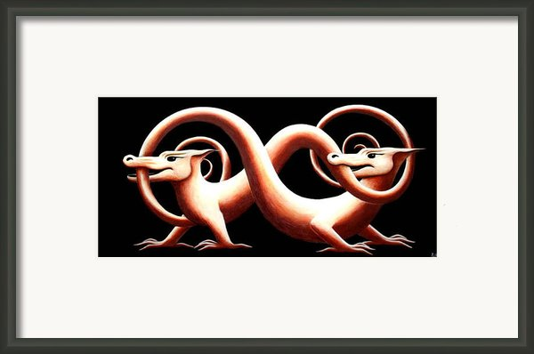 You And Me Framed Print By Erla Alberts