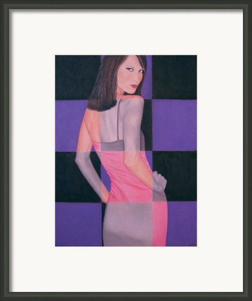 Your Move Framed Print By Lynet Mcdonald