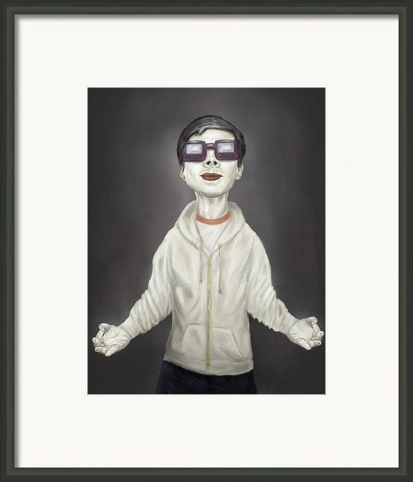 Zen Framed Print By Balazs Solti