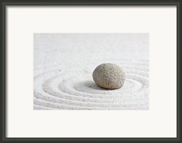 Zen Garden Framed Print By Shawn Hempel