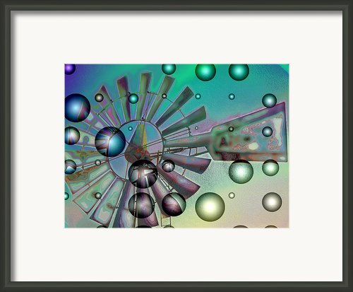 Zephyrus - Aloft Framed Print By Wendy J St Christopher