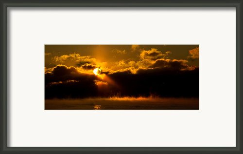 Zero Degree Steam Framed Print By Phil Koch