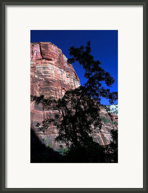 Zion Silhouette 2 Framed Print By Bill Caldwell -        Abeautifulsky Photography