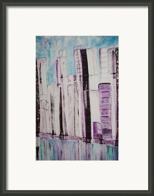 City Framed Print By Elisabeth Charbonneau