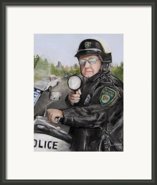 Gotcha Framed Print By Jack Skinner