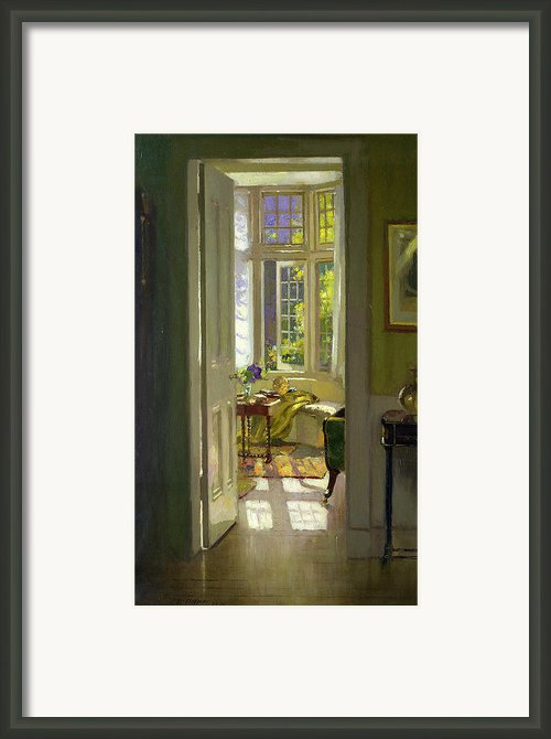 Interior Morning  Framed Print By Patrick Williams Adam