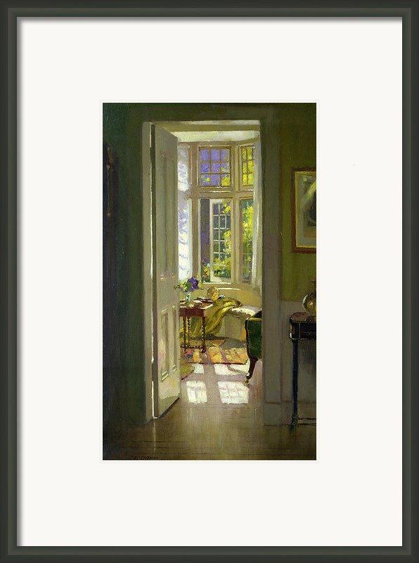 Interior Morning  Framed Print By Patrick Williams Adam