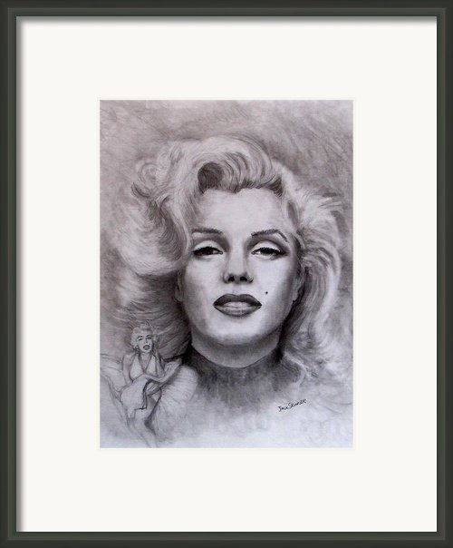 Marilyn Framed Print By Jack Skinner