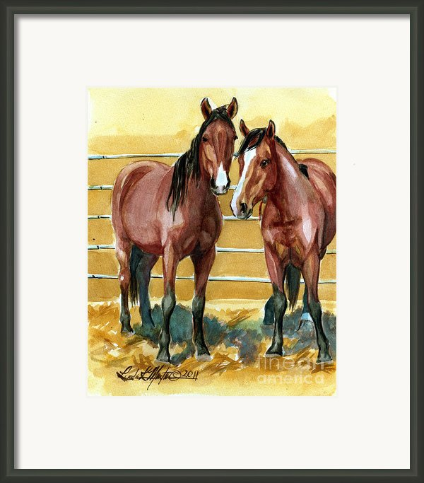 Pick Up Day Framed Print By Linda L Martin