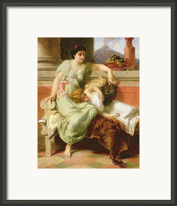 Pompeii Framed Print By Alfred W Elmore