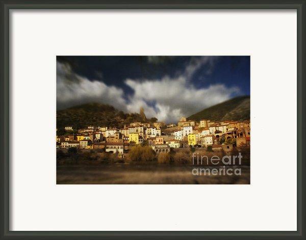Roquebrun Framed Print By Paul Grand