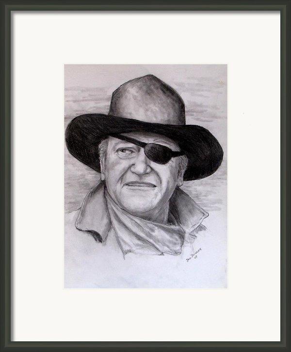 The Duke Framed Print By Jack Skinner