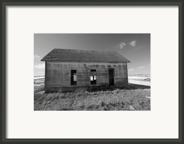 Visions Of Learning Past Framed Print By Rick Rauzi