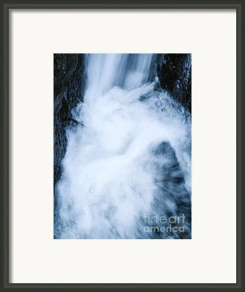 Waterfall Framed Print By Odon Czintos