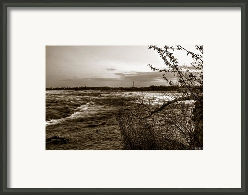 00014 Three Sister Islands Series Framed Print By Michael Frank Jr