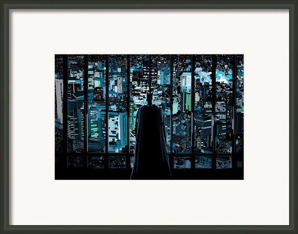 004. Ready To Believe In Good Framed Print By Tam Hazlewood