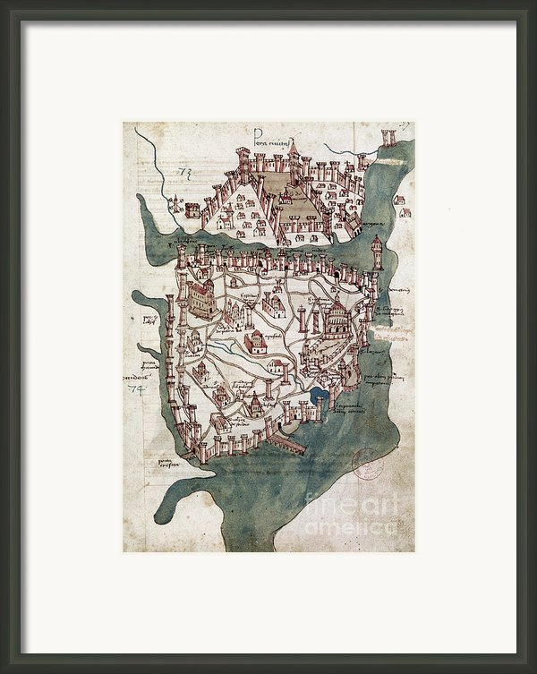 Constantinople, 1420 Framed Print By Granger