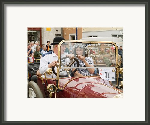 01 Old Car Framed Print By Odon Czintos