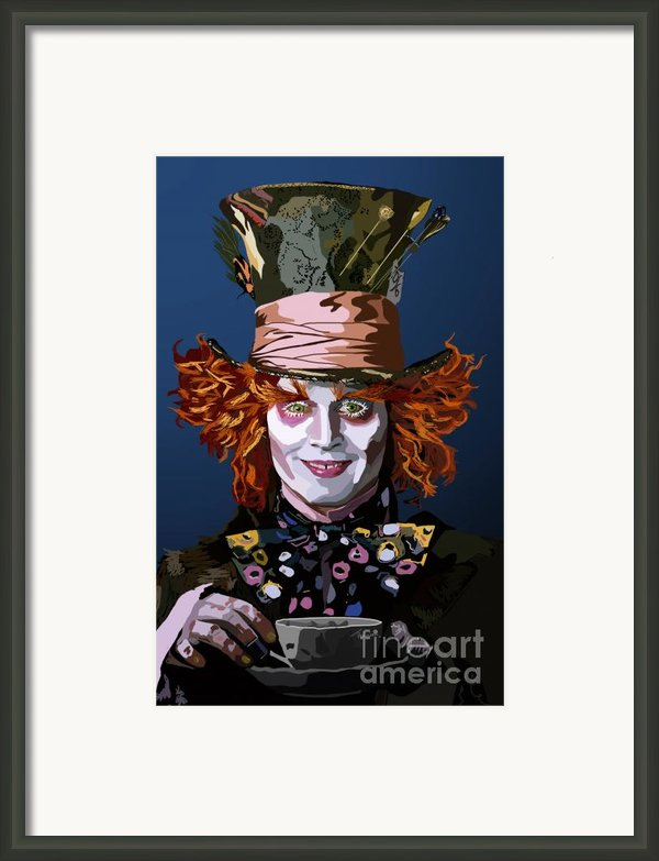 015. What Can You Do Framed Print By Tam Hazlewood