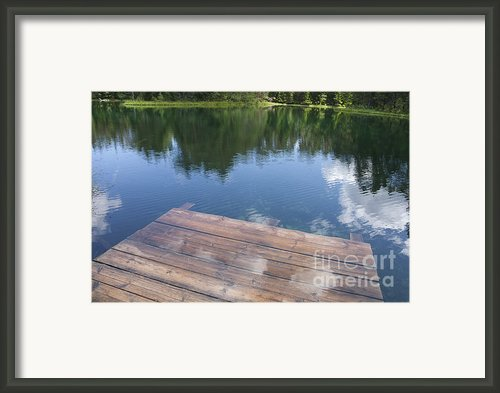 Äntu Great Lake In Estonia Framed Print By Jaak Nilson