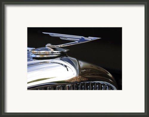 1929 Duesenberg Model J Hood Ornament Framed Print By Jill Reger