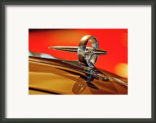 1947 Buick Roadmaster Hood Ornament Framed Print By Jill Reger