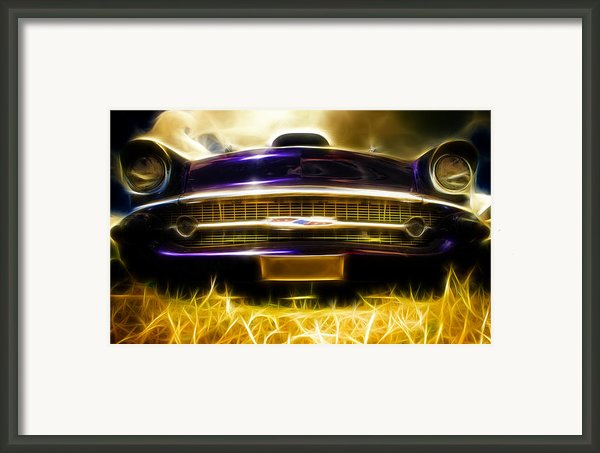 1957 Chevrolet Bel Air Framed Print By Phil
