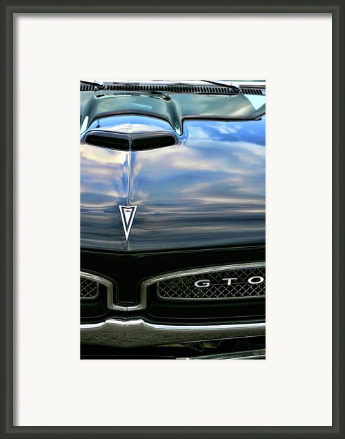 1967 Pontiac Gto Framed Print By Gordon Dean Ii