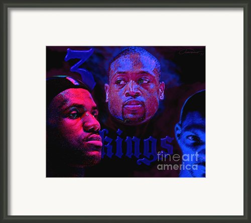 3 Kings Framed Print By John Travisano