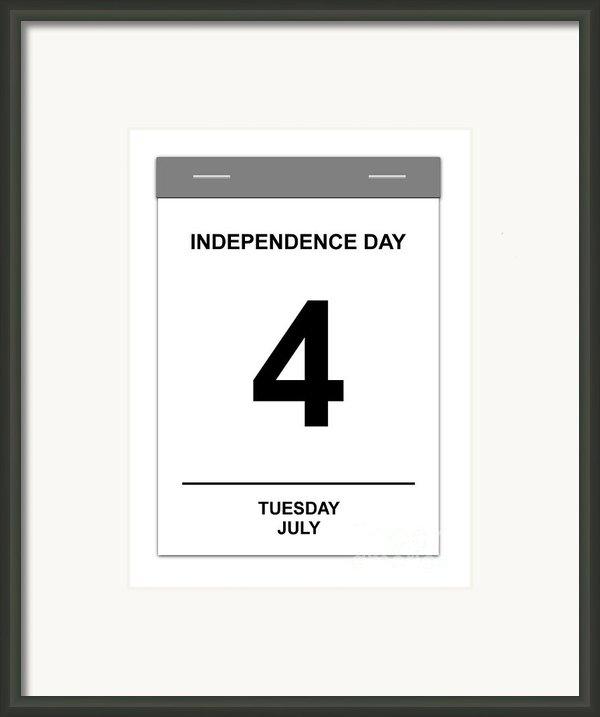 4th July Framed Print By Henrik Lehnerer