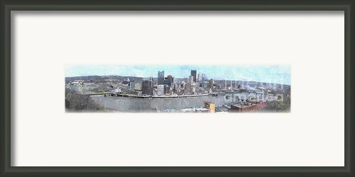 A Grand View From Grandview Framed Print By Spencer Mckain