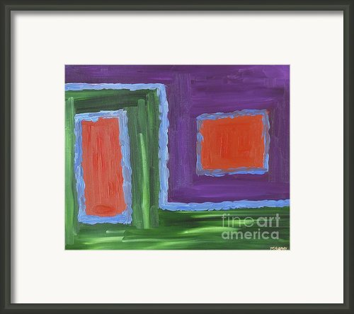 Abstract 200 Framed Print By Patrick J Murphy