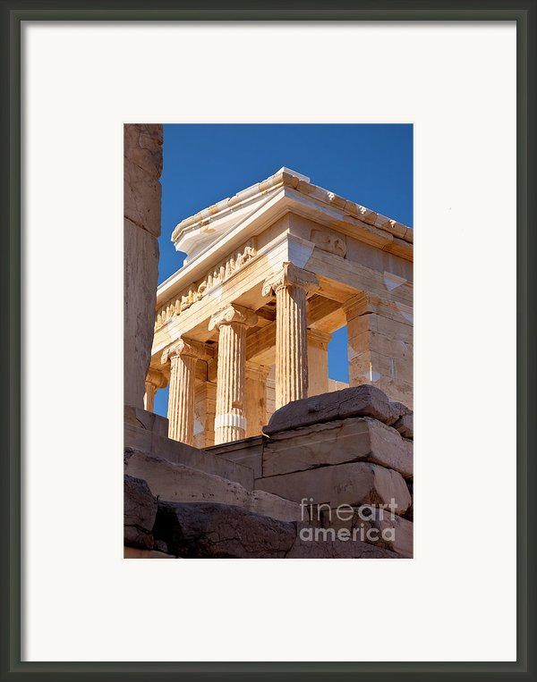 Acropolis Temple Framed Print By Brian Jannsen