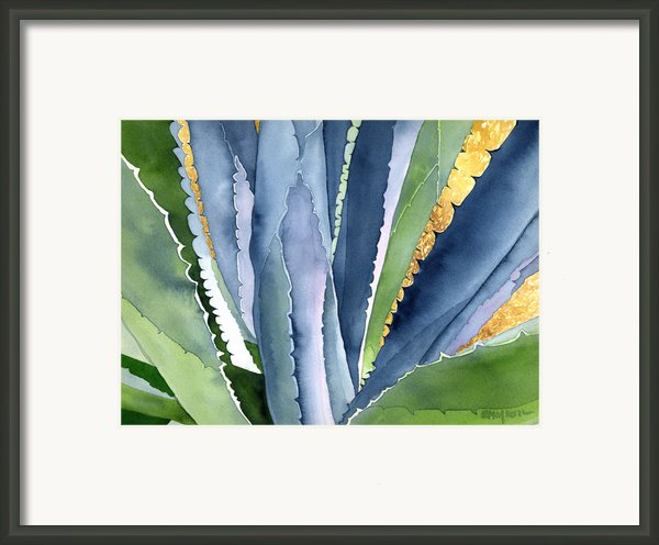 Agave 2 Framed Print By Eunice Olson