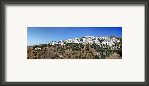 Albondon Pano Framed Print By Jane Rix