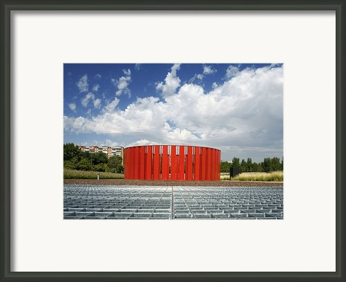 Alcorcon Arts Creation Centre Framed Print By Carlos Dominguez