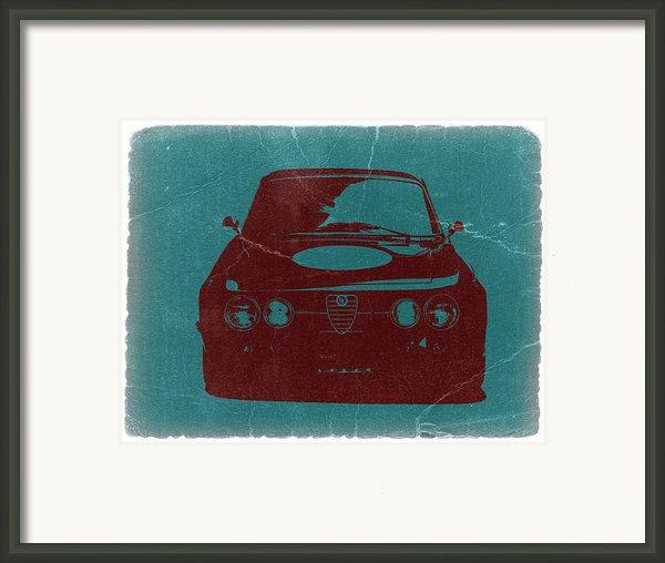 Alfa Romeo Gtv Framed Print By Irina  March