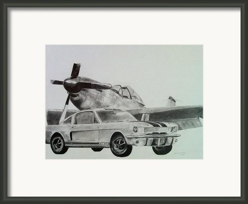 American Mustangs Framed Print By Aaron Mayfield