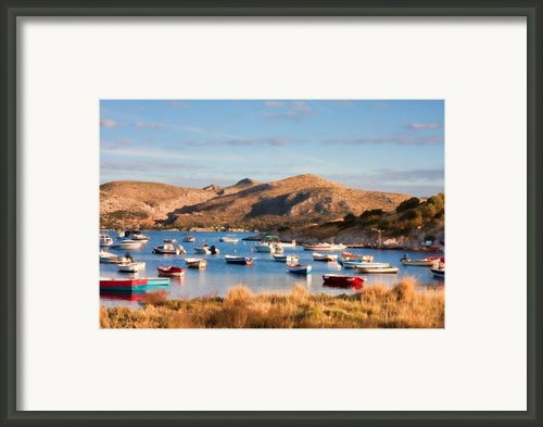 Anavyssos Bay Framed Print By Gabriela Insuratelu
