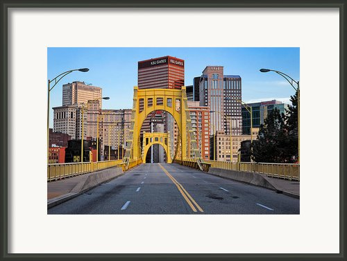 Andy Warhol Bridge  Framed Print By Emmanuel Panagiotakis