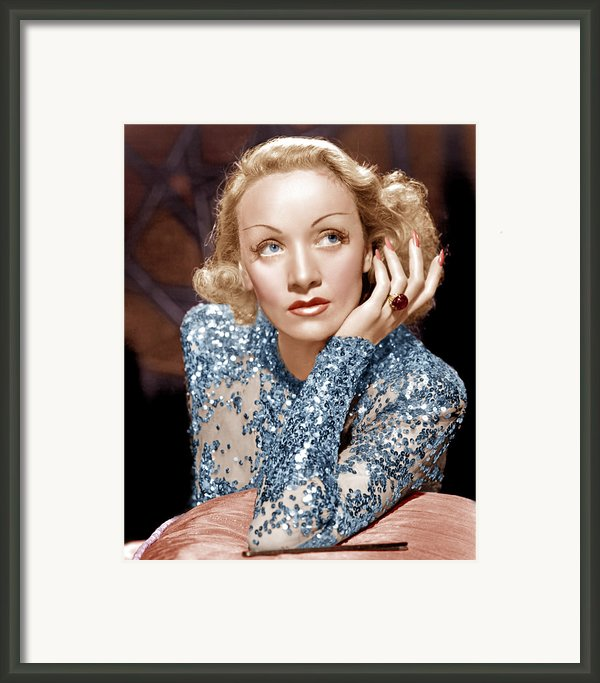 Angel, Marlene Dietrich, 1937 Framed Print By Everett