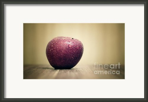 Apple Framed Print By Kristin Kreet