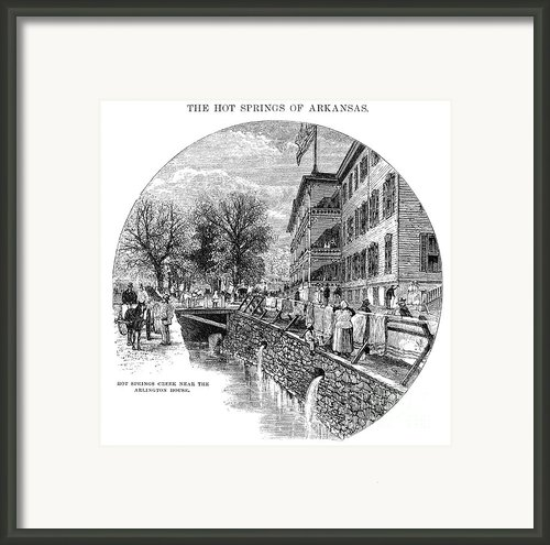 Arkansas: Hot Springs Framed Print By Granger