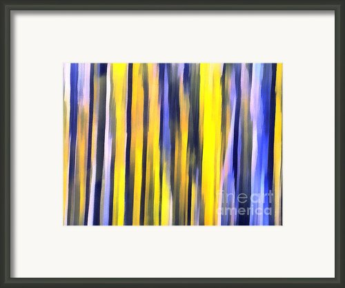 Art Abstract Work Framed Print By Odon Czintos